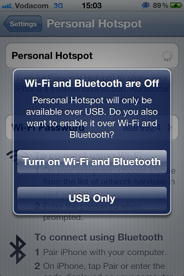 How to Share Your iPhone's Internet Connection (The proper ...
