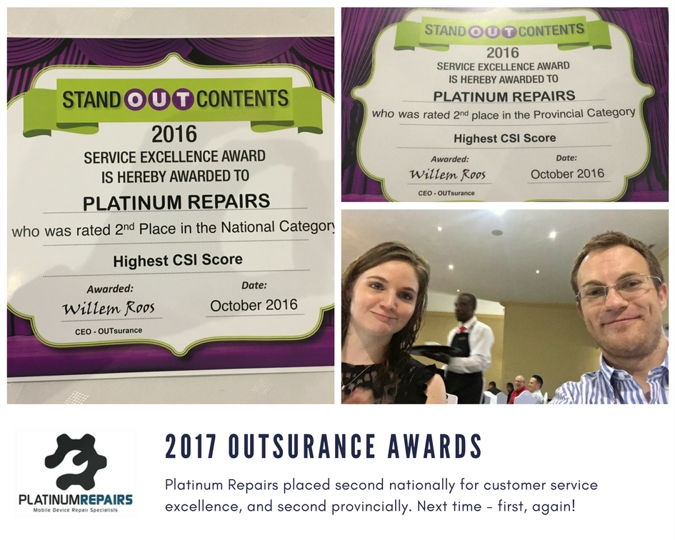 2016 OUTstanding Awards Contents Repair Devices